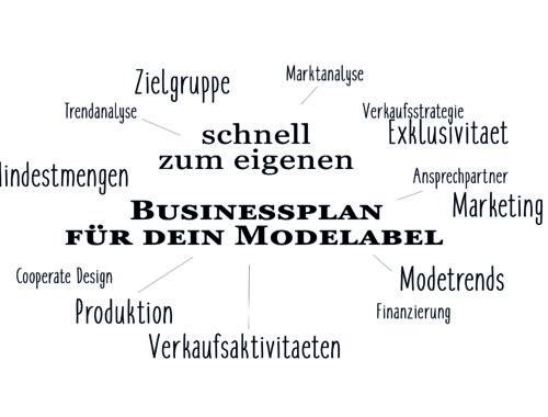Businessplan für dein Modelabel