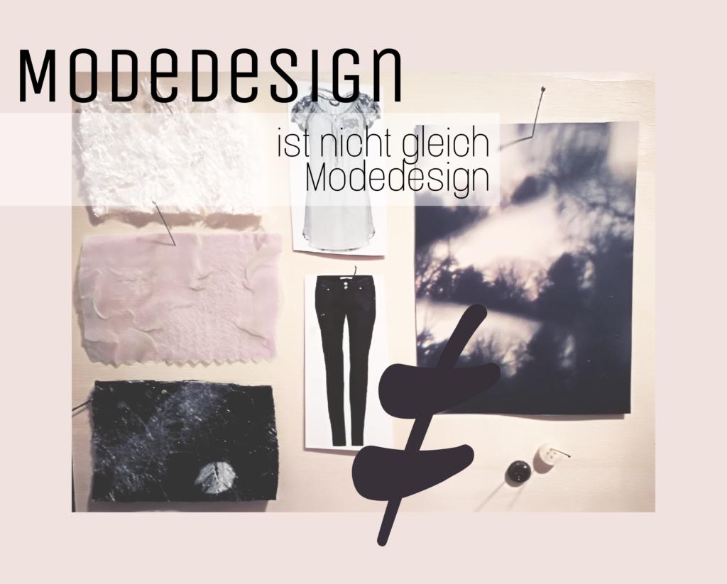 Tätigkeiten Modedesigner