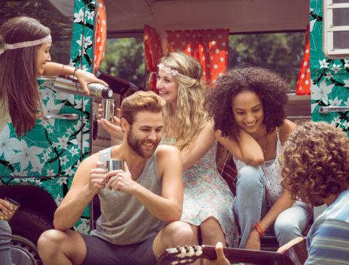Florale Drucke AOP, deine eigene Modekollektion entwerfen