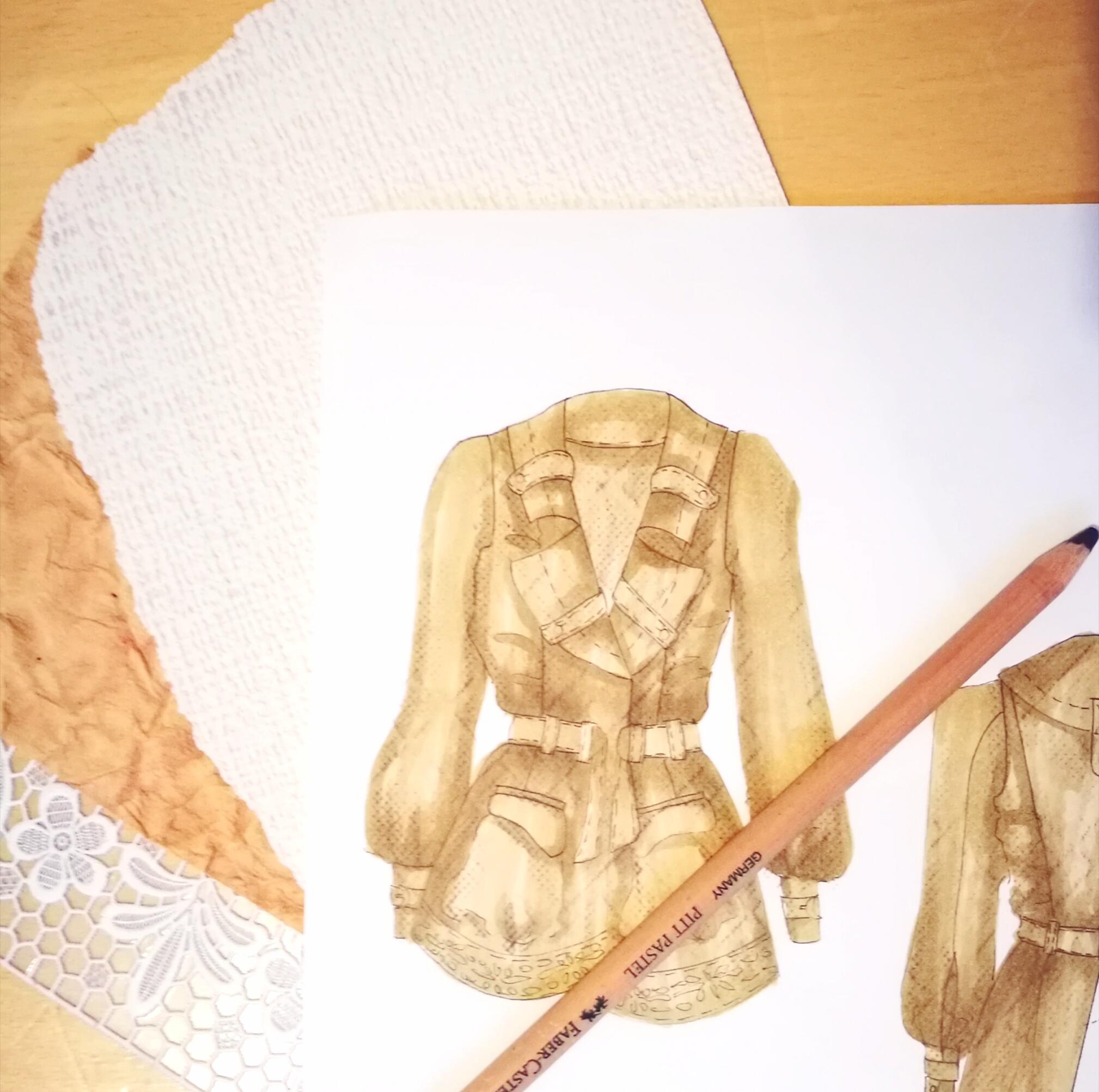 Materialien für Modedesigner