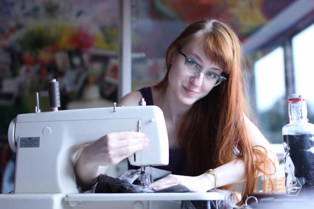 Als Wäsche Designerin in die Selbstständigkeit