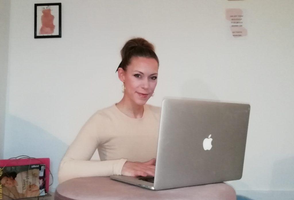 Die Modejournalistin Katharina Pfannkuch