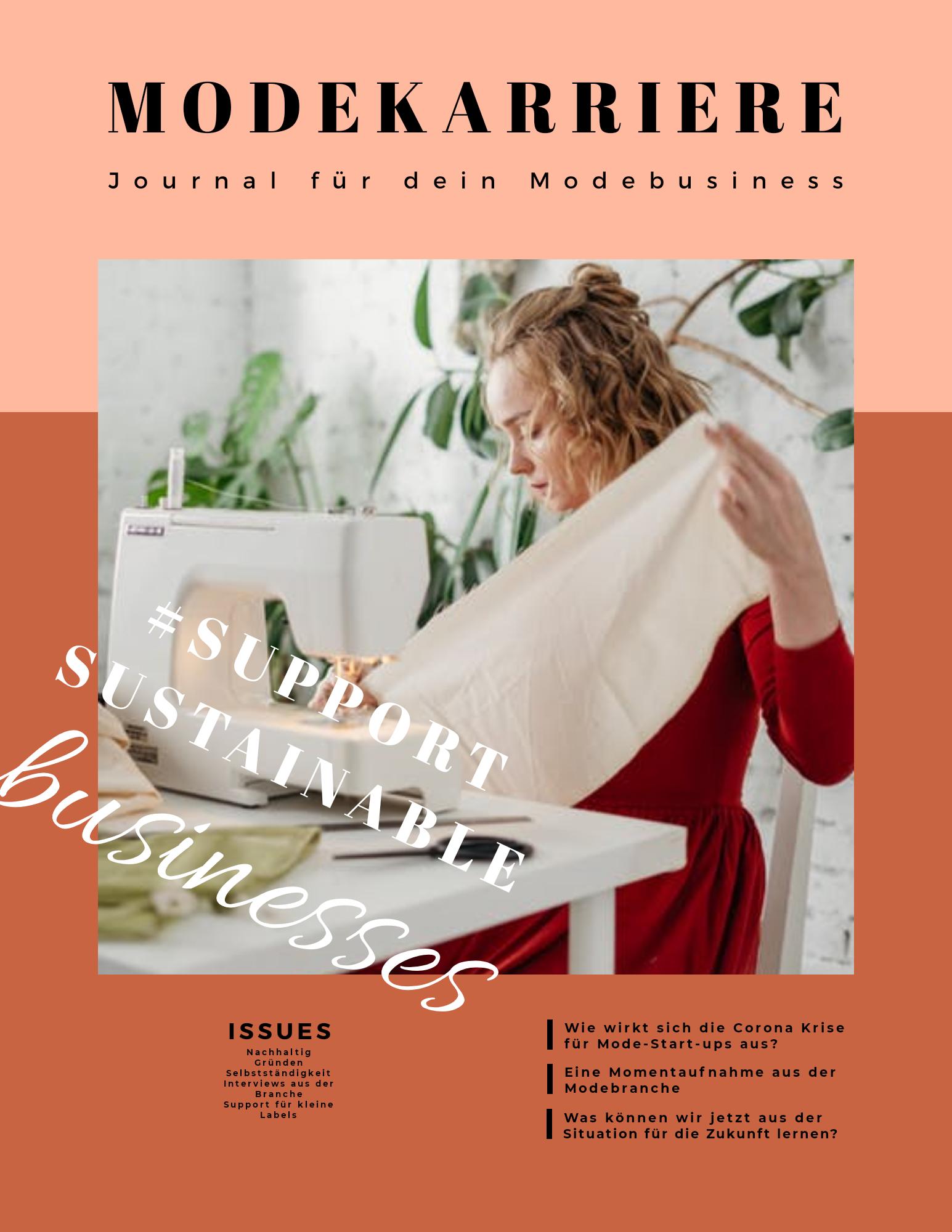 Magazin für Modedesigner
