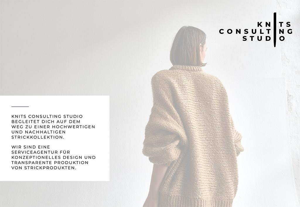 nachhaltige Strick Kollektion herstellen lassen mit Knits Consulting Studio