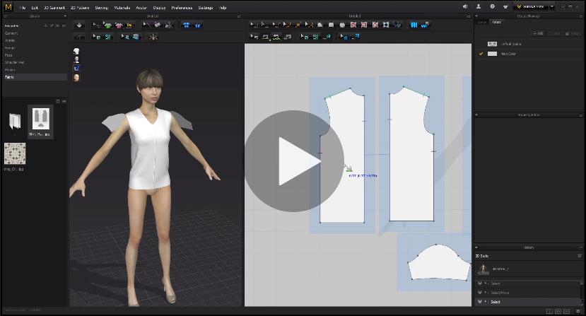 Online Kurs Marvelous Designer 3D Fashion